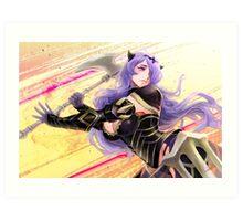 Fire Emblem Fates: Camilla Art Print