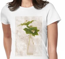Still Life Of Dogwood - Bunch Berry Blossoms  Womens Fitted T-Shirt