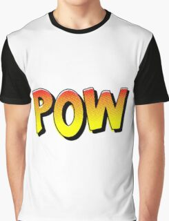 Comic Book Pow Cartoon Graphic T-Shirt