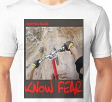 Mountain biker by KNOW FEAR WEAR Unisex T-Shirt