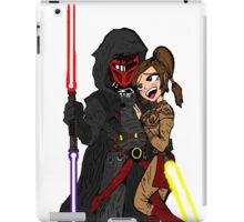 Star Wars: Revan and Bastila iPad Case/Skin