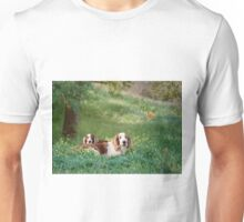 Welshie relaxation time Unisex T-Shirt