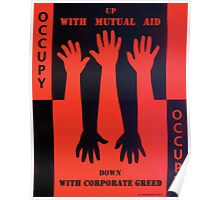 Up With Mutual Aid Poster