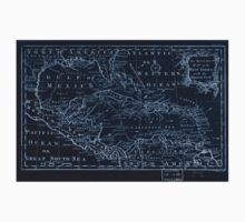 American Revolutionary War Era Maps 1750-1786 310 An accurate map of the West Indies with the adjacent coast Inverted One Piece - Short Sleeve