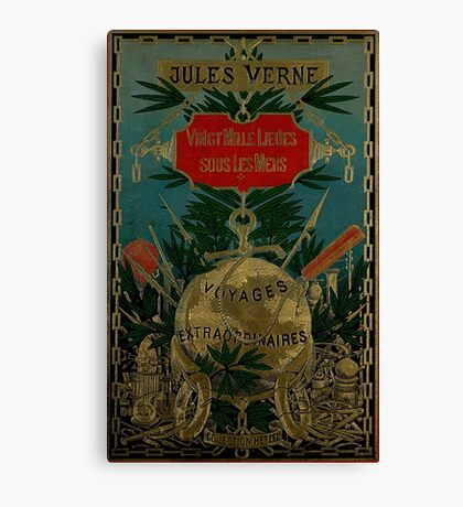 Jules Verne Extraordinary Voyages Canvas Print