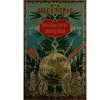 Jules Verne Extraordinary Voyages Photographic Print