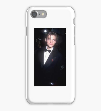 leo dicaprio iPhone Case/Skin