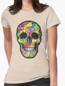POP SKULL Womens Fitted T-Shirt