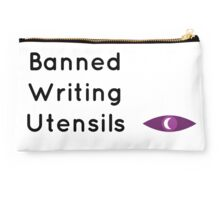 "Welcome To Night Vale ""Banned Writing Utensils""  Studio Pouch"