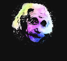 Rainbow Einstein Watercolor Unisex T-Shirt