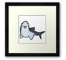 Cute Shark Framed Print