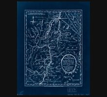American Revolutionary War Era Maps 1750-1786 645 Part of the counties of Charlotte and Albany in the Province of New York  being the seat of war between the Inverted Unisex T-Shirt