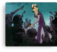 Walking Dead - Clem Canvas Print