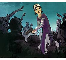 Walking Dead - Clem Photographic Print