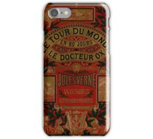 Jules Verne Around The World In Eighty Days iPhone Case/Skin