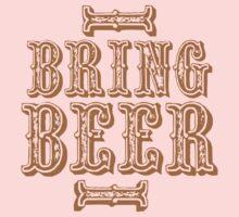 BRING BEER (vintage) One Piece - Long Sleeve