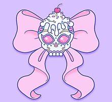 Pastel Sugar Skull by Samantha Little