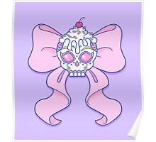 Pastel Sugar Skull Poster