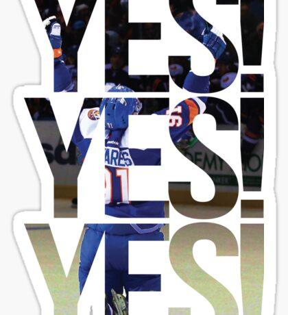 Yes Yes Yes New York Islanders Sticker