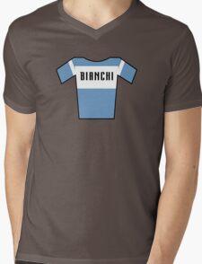 Retro Jerseys Collection - Bianchi Mens V-Neck T-Shirt