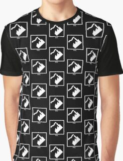 Record Label 4 (white) Graphic T-Shirt