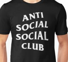 Anti Social Social Club - White Unisex T-Shirt