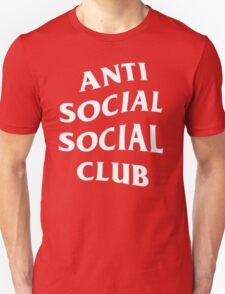 Anti Social Social Club - White Unisex T-Shirt