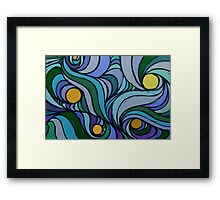Air Turbulence Framed Print