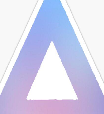 Bastille Pastel Triangle Sticker