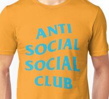 Anti Social Social Club - Blue  Unisex T-Shirt