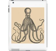 Vintage Natural History Octopus iPad Case/Skin