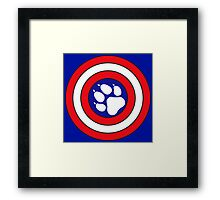 Captain Pupmerica Framed Print