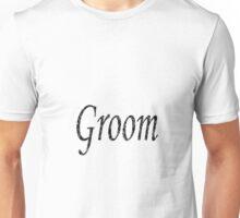 Groom in Silver-Black Paint Unisex T-Shirt