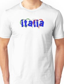 Italian Hearts Unisex T-Shirt