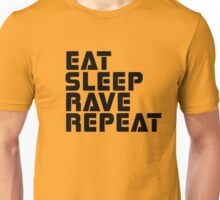 Techno Rave Disco House Trance Party Hard Music Unisex T-Shirt