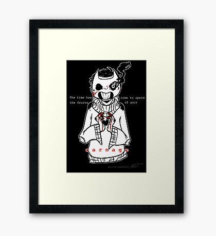 Carnage- OFF Framed Print