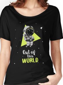 Out Of This World Cute Astronaut Women's Relaxed Fit T-Shirt