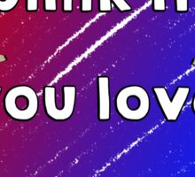 Blink if you love Aliya Mustafina Sticker