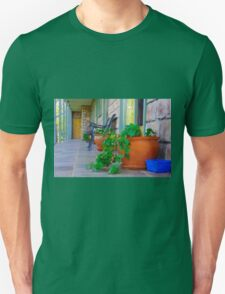 Quiet country verandah Unisex T-Shirt