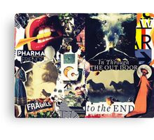 To The End. Canvas Print