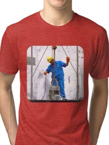Construction Workers  Tri-blend T-Shirt