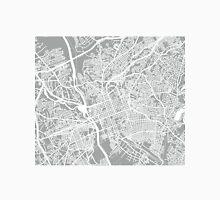 Columbia SC Map - Light Grey Unisex T-Shirt