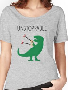 Unstoppable T.Rex Women's Relaxed Fit T-Shirt