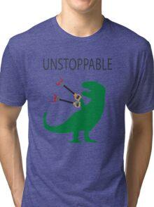 Unstoppable T.Rex Tri-blend T-Shirt