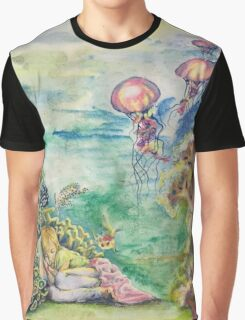 Sleeping With the Fishes Graphic T-Shirt
