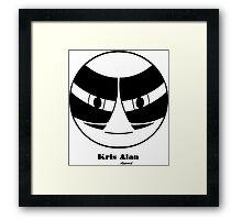 KA 2 Black Framed Print