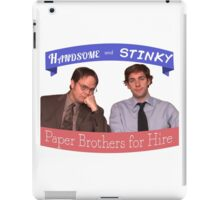 The Dunder Duo iPad Case/Skin