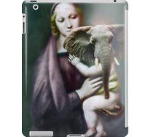Madonna with Christ Child. iPad Case/Skin