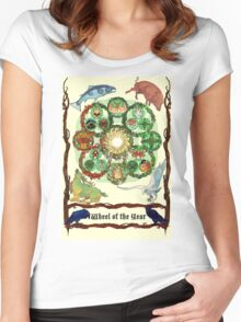 Wheel of the Year Women's Fitted Scoop T-Shirt