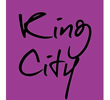"""Welcome To Night Vale """"King City"""" - Purple Photographic Print"""